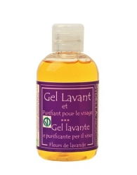 Gel cleansing and purifying facial