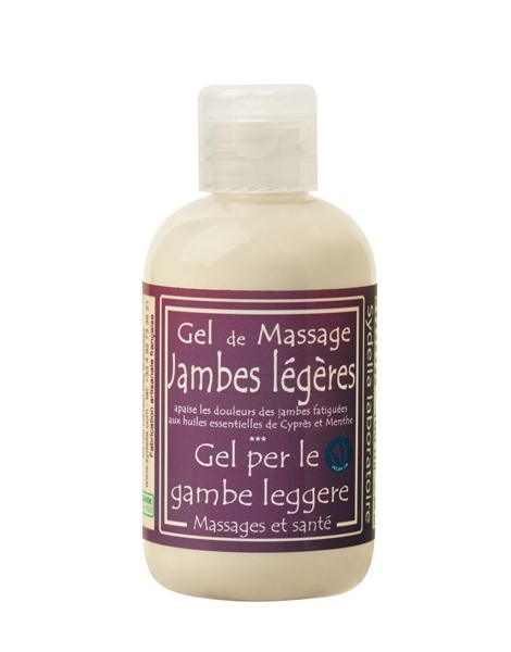 Gel de massage jambes legères